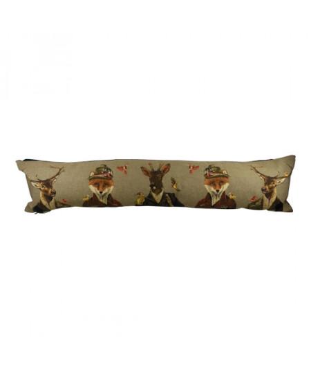 Boudin de porte gobelin coton 90x20cm - Chasseurs |YESDEKO