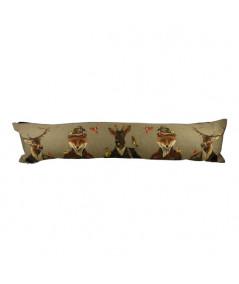 Boudin de porte gobelin coton 90x20cm - Chasseurs | Yesdeko
