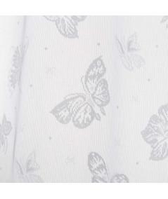 Voilage blanc Whitefly 140x260cm (Lot de 2)  YESDEKO
