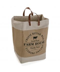 Panier à linge avec anse - Farm House  YESDEKO