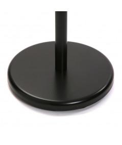 Valet de chambre en bois noir et naturel H112cm- Victoria | Yesdeko