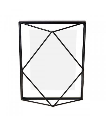 Cadre photo en métal noir 23x18cm - Prisma   Yesdeko