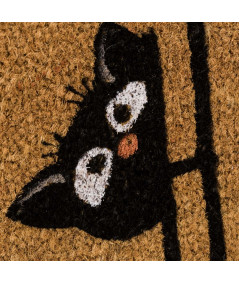 Paillasson en coco chat 60x40cm- Cat Home |YESDEKO