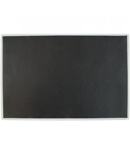 Tapis cuisine chien, lavable 75x50cm Teckel noir | Yesdeko