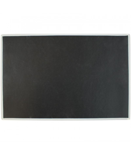 Tapis cuisine chien, lavable 75x50cm Teckel noir |YESDEKO