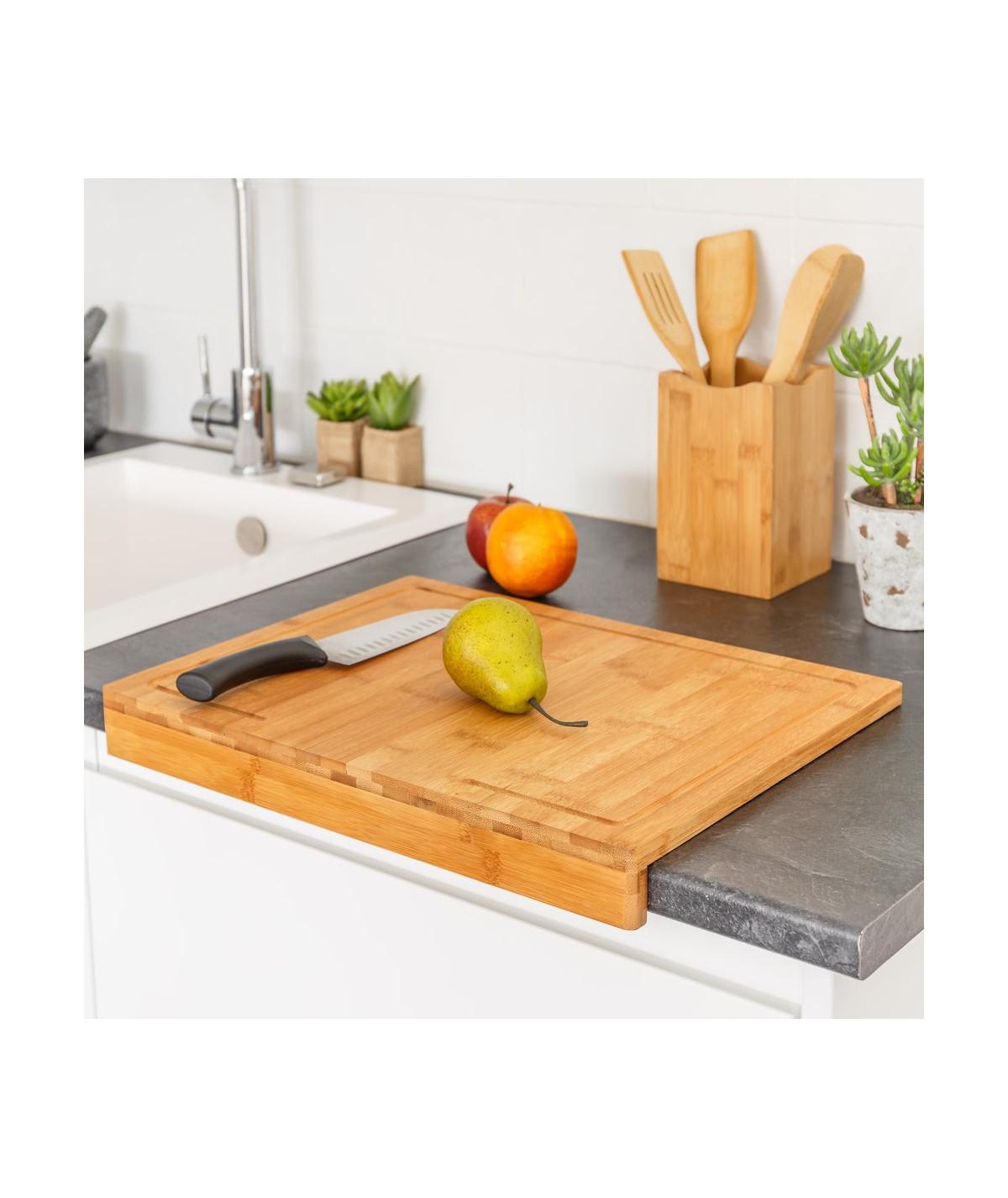 Planche de cuisine en bambou 45x35cm - Plat en bambou | Yesdeko