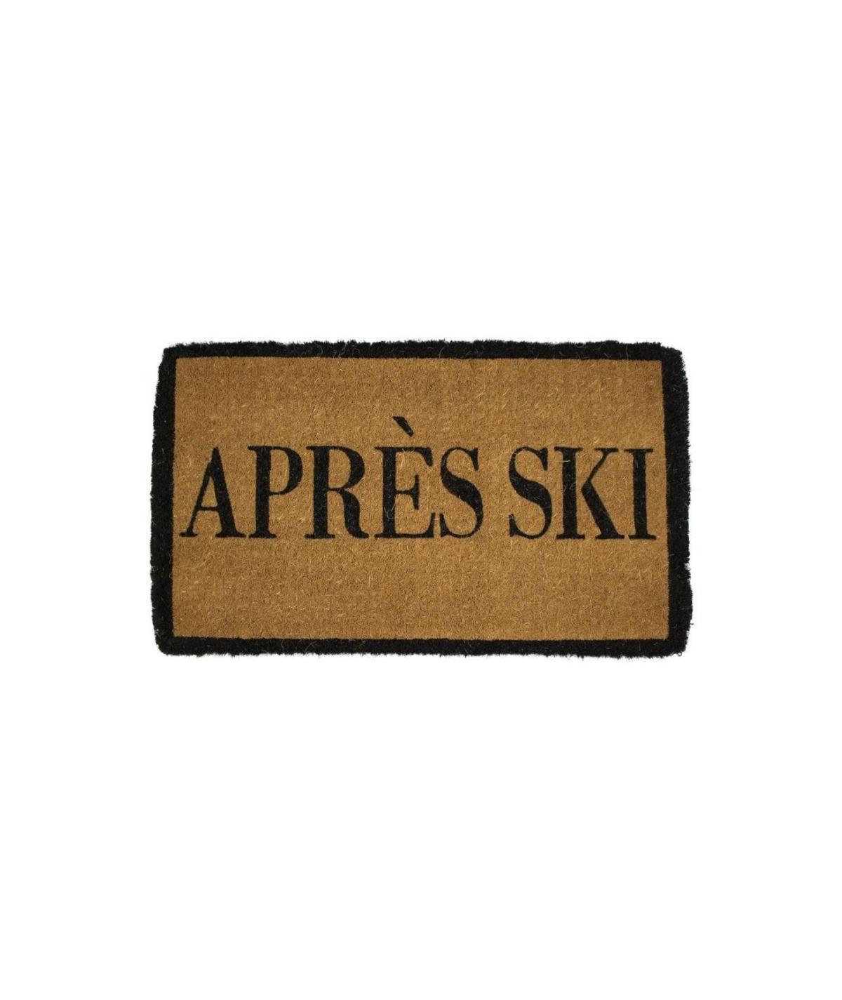 Paillasson coco fait main 75x45cm - Après Ski | Yesdeko