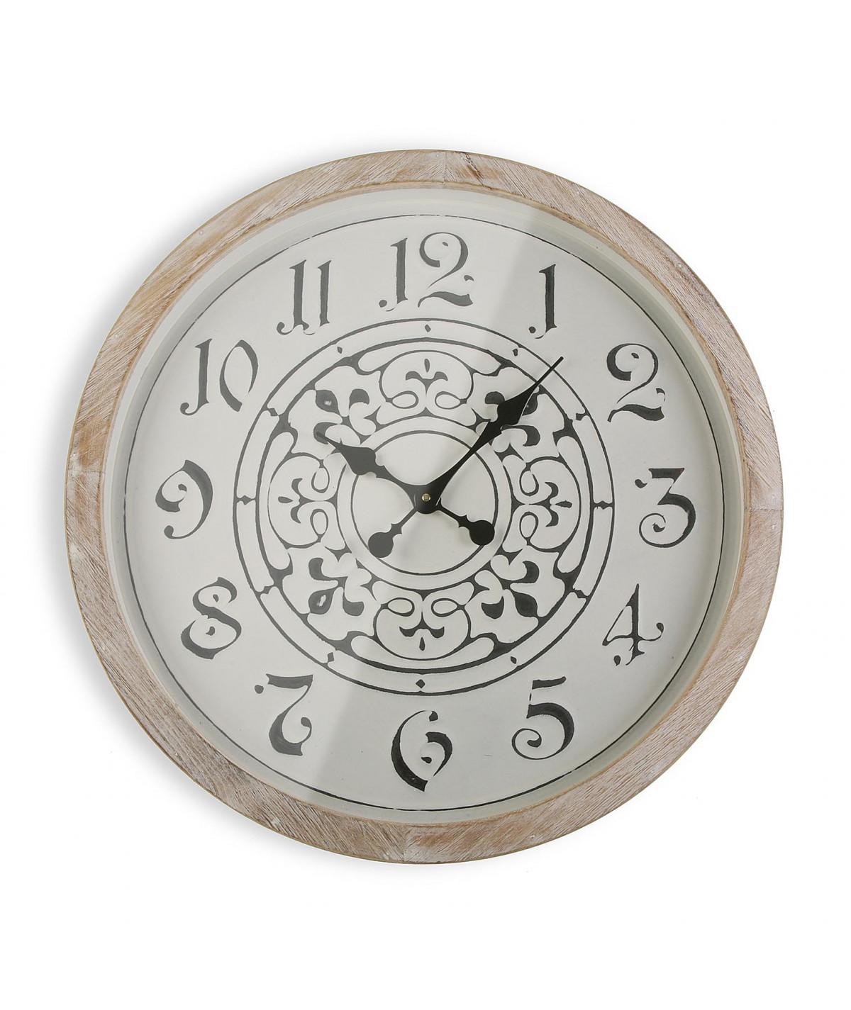 Horloge murale motif arabesque Diam63cm - Jasmine - Horloge murale|Yesdeko