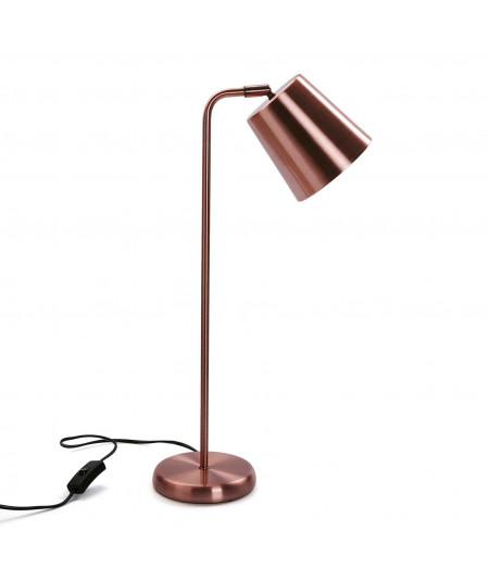 Lampe à poser effet cuivré - Gustavia - Lampe à poser|Yesdeko