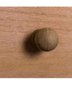 Table de chevet en bois 3 tiroirs et cannage - Miami |YESDEKO