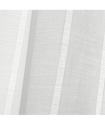 Voilage blanc (Lot de 2) 140x260cm Rasa |YESDEKO