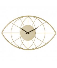 Horloge ovale en forme d'oeil - Smoky Gold |YESDEKO