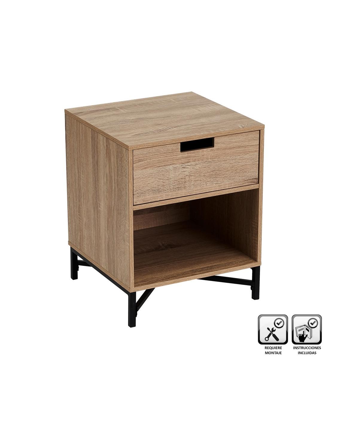 Table de chevet carré |YESDEKO