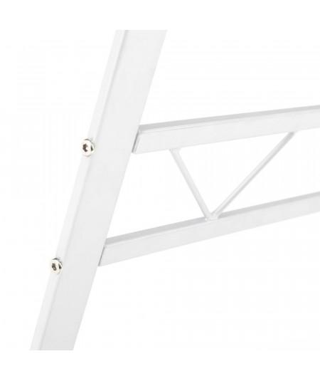 Bureau en verre et métal 120x60x75cm - Map |YESDEKO
