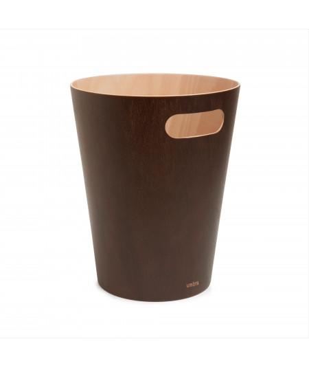 Corbeille à papiers en bois, 7,5L - Woodrow  YESDEKO