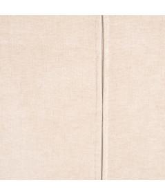 Fauteuil velours chiné beige 74x67x87,50cm - Matilda |YESDEKO