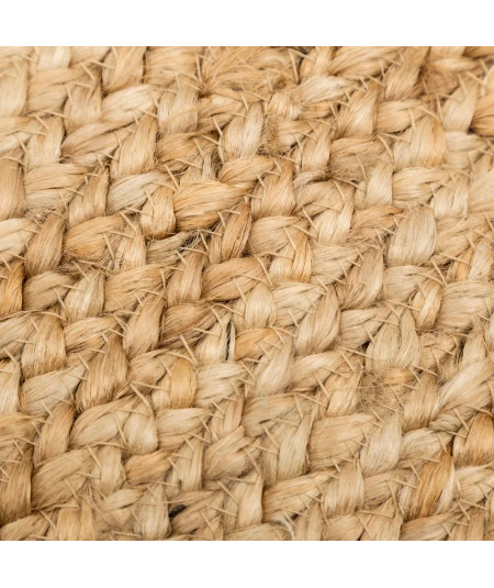 Tapis jute ovale naturel 200x290cm - Malva |YESDEKO