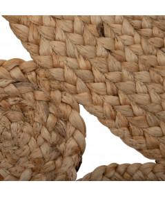 Tapis jute rond naturel Diam120cm - Elyse  YESDEKO
