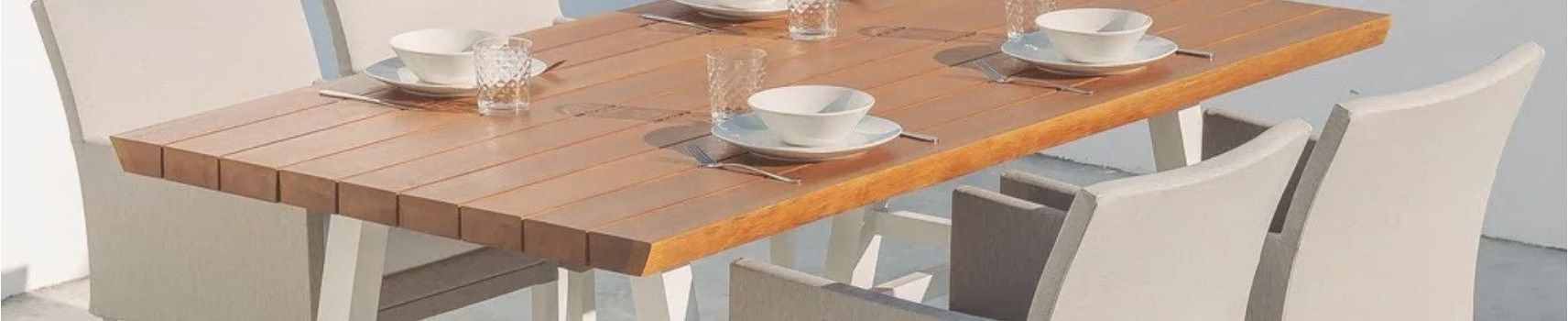 Ensemble table de jardin - Mobilier extérieur - Mobilier de jardin